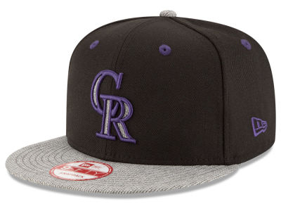 Colorado Rockies New Era MLB G-Fill 9FIFTY Snapback Cap