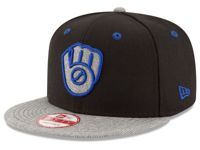 Milwaukee Brewers New Era MLB G-Fill 9FIFTY Snapback Cap