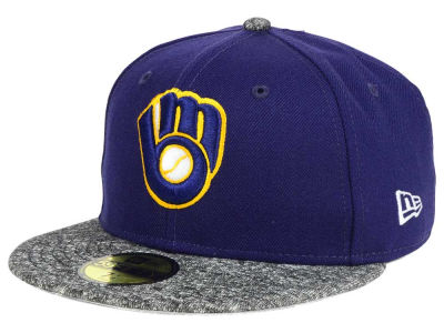 Milwaukee Brewers New Era MLB Team Frenchie 59FIFTY Cap