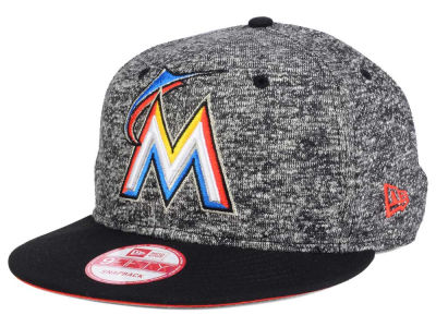 Miami Marlins New Era MLB 2-Frenchie 9FIFTY Snapback Cap