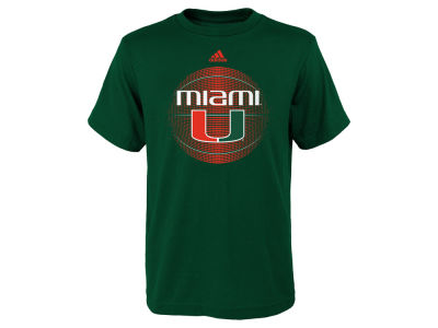 Miami Hurricanes adidas NCAA Youth High Scorer T-Shirt