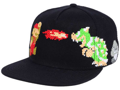 Nintendo Super Mario Dragon Snapback Hat