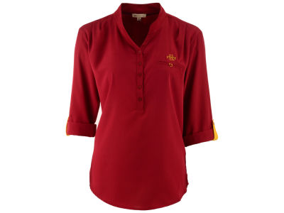 Iowa State Cyclones University Girls NCAA Women's Missy Button Up Tunic