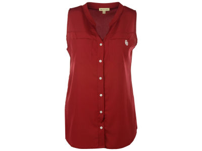 Oklahoma Sooners NCAA Women's Plus Size Button Tunic
