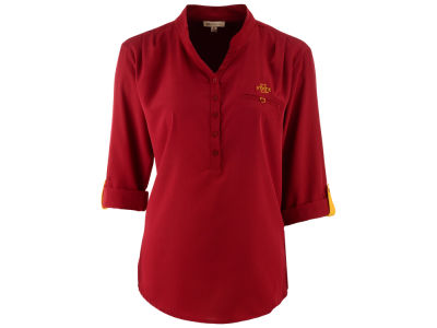 Iowa State Cyclones NCAA Women's Plus Size Button Tunic