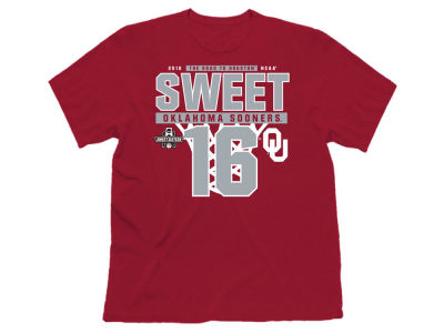 Oklahoma Sooners Retro Brand NCAA Men's Sweet Sixteen Road To T-Shirt