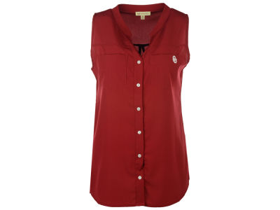 Oklahoma Sooners NCAA Women's Missy Tunic Button Tank