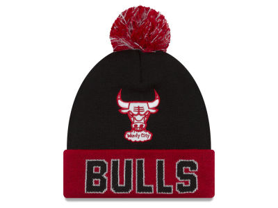 Chicago Bulls New Era NBA Hardwood Court Big Reflective Knit