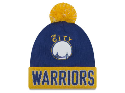 Golden State Warriors New Era NBA Hardwood Court Big Reflective Knit
