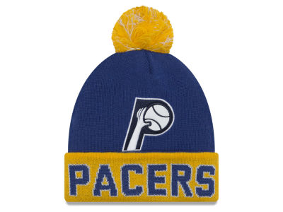 Indiana Pacers New Era NBA Hardwood Court Big Reflective Knit