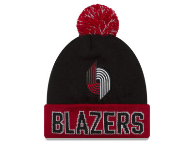Portland Trail Blazers New Era NBA Hardwood Court Big Reflective Knit