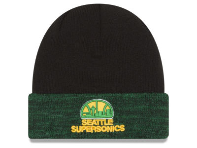Seattle SuperSonics New Era NBA HWC Cuffy Knit