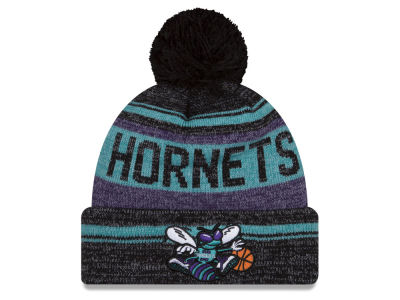 Charlotte Hornets New Era NBA Hardwood Classics Snow Dayz Knit