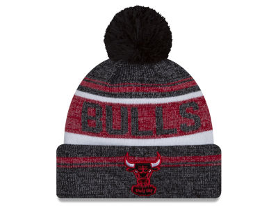 Chicago Bulls New Era NBA Hardwood Court Snow Dayz Knit