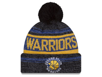 Golden State Warriors New Era NBA Hardwood Classics Snow Dayz Knit