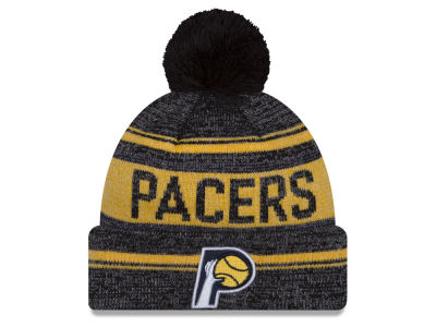 Indiana Pacers New Era NBA Hardwood Court Snow Dayz Knit