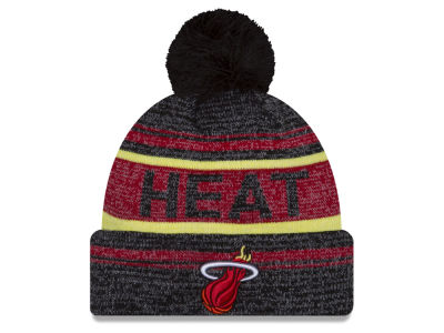 Miami Heat New Era NBA Hardwood Classics Snow Dayz Knit