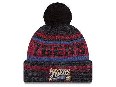 Philadelphia 76ers New Era NBA Hardwood Court Snow Dayz Knit