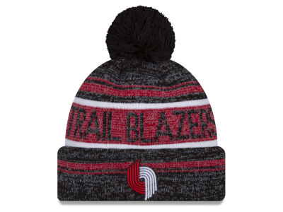 Portland Trail Blazers New Era NBA Hardwood Court Snow Dayz Knit
