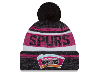 San Antonio Spurs New Era NBA Hardwood Classics Snow Dayz Knit