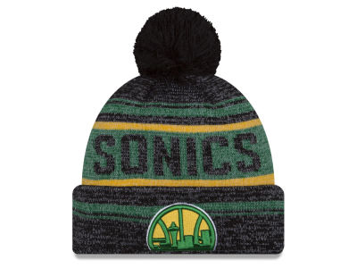 Seattle SuperSonics New Era NBA Hardwood Classics Snow Dayz Knit