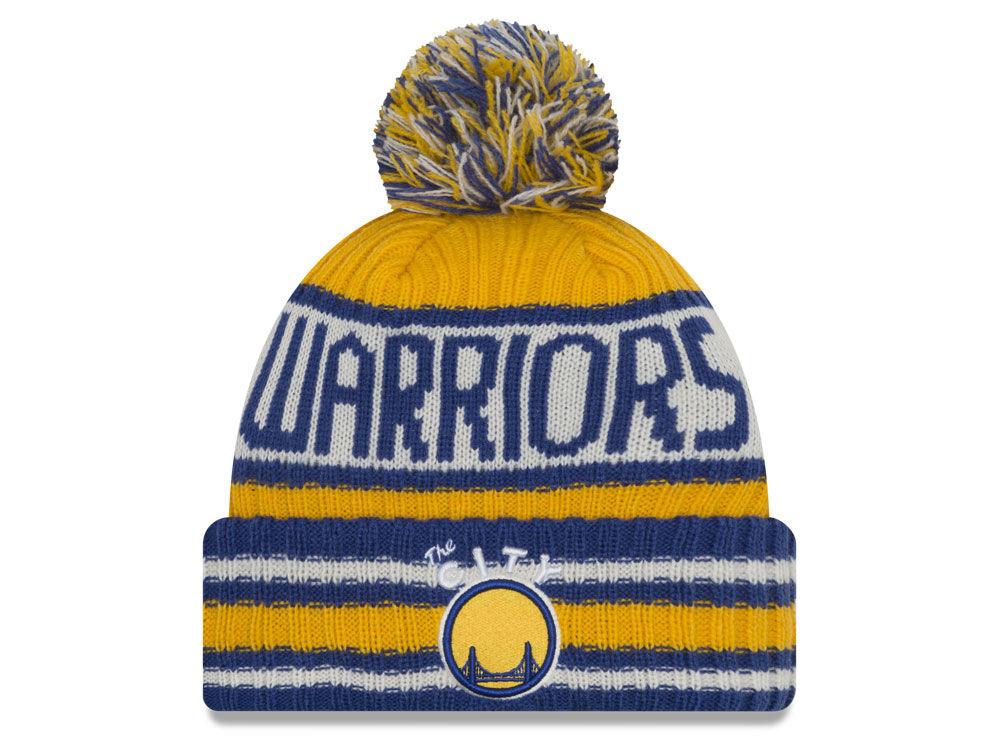 buy online af308 3779d ... uk golden state warriors new era nba hwc jacoby knit lids c7e39 25673