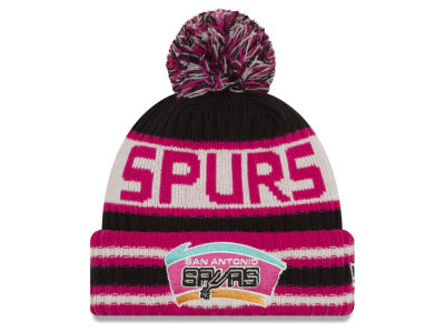San Antonio Spurs New Era NBA HWC Jacoby Knit