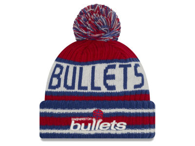 Washington Bullets New Era NBA HWC Jacoby Knit