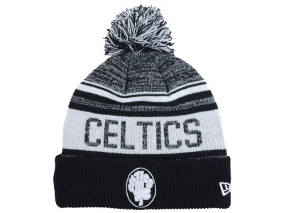 Boston Celtics New Era NBA Hardwood Classic White Out Knit