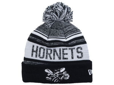 Charlotte Hornets New Era NBA Hardwood Classic White Out Knit