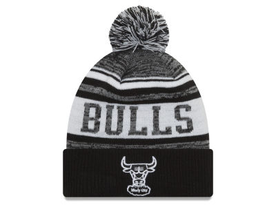 Chicago Bulls New Era NBA Hardwood Classic White Out Knit
