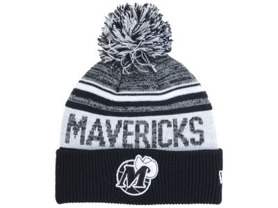 Dallas Mavericks New Era NBA Hardwood Classic White Out Knit