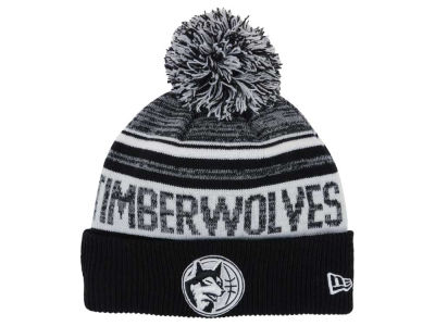 Minnesota Timberwolves New Era NBA Hardwood Classic White Out Knit