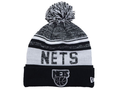 New Jersey Nets New Era NBA Hardwood Classic White Out Knit