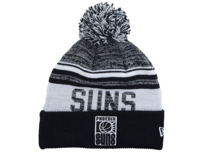 Phoenix Suns New Era NBA Hardwood Classic White Out Knit