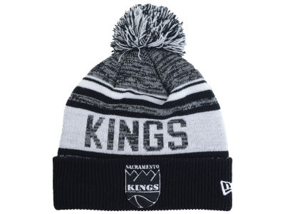 Sacramento Kings New Era NBA Hardwood Classic White Out Knit