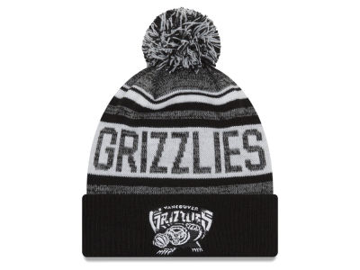 Vancouver Grizzlies New Era NBA Hardwood Classic White Out Knit