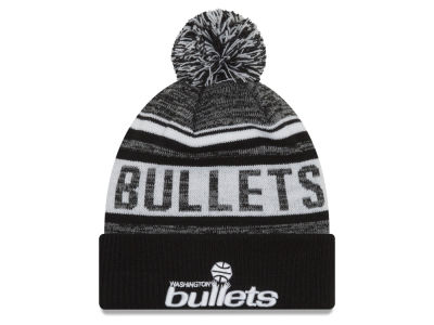 Washington Bullets New Era NBA Hardwood Classic White Out Knit