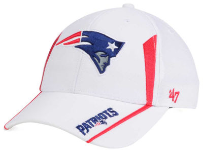 New England Patriots NFL White Arc '47 MVP Cap