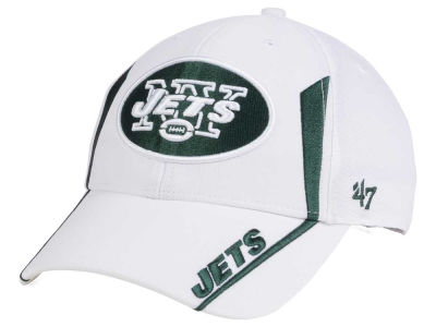 New York Jets NFL White Arc '47 MVP Cap