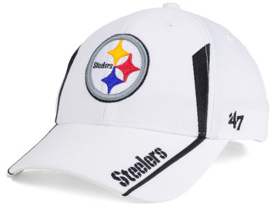 Pittsburgh Steelers NFL White Arc '47 MVP Cap