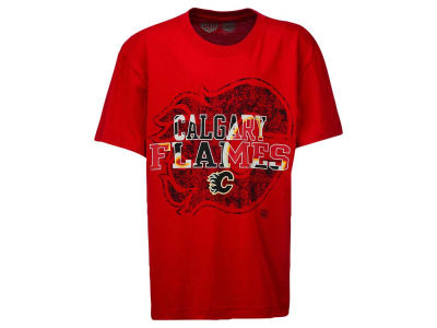 Calgary Flames NHL Youth Puzzle T-Shirts