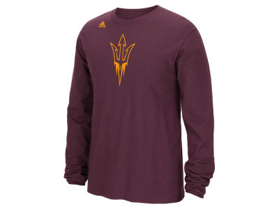 Arizona State Sun Devils adidas NCAA Men's School Logo Long Sleeve T-Shirt
