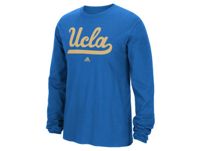 UCLA Bruins adidas NCAA Men's School Logo Long Sleeve T-Shirt