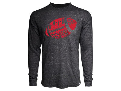 Ohio State Buckeyes NCAA Women's Fottball Vintage Tri-blend Long Sleeve T-Shirt