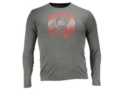 Ohio State Buckeyes NCAA Men's Running Brutus Poly Long Sleeve T-Shirt
