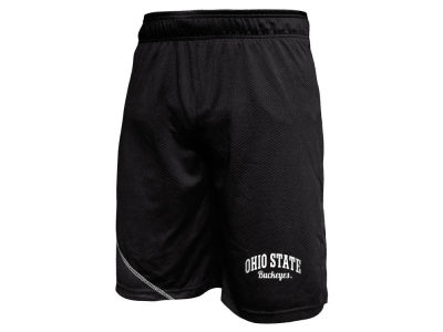 Ohio State Buckeyes NCAA Men's Poly Mesh Shorts