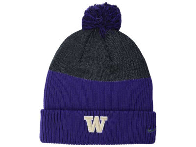 Washington Huskies Nike NCAA Low Crown Reflective Knit
