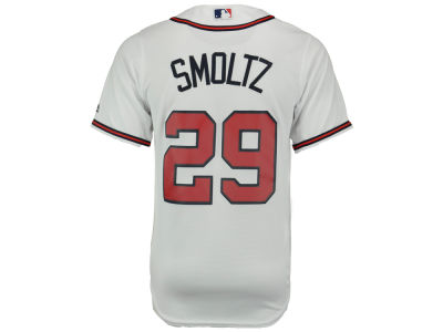 Atlanta Braves John Smoltz Majestic MLB Men's Cooperstown Player Replica CB Jersey