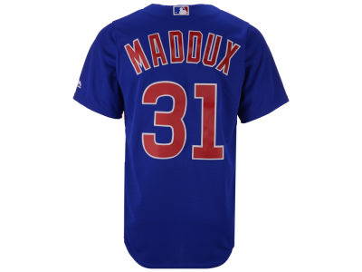 Chicago Cubs Greg Maddux Majestic MLB Men's Cooperstown Player Replica CB Jersey
